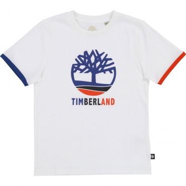 T-shirt dla dziecka basic Timberland 002756