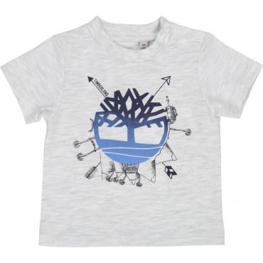 Koszulka niemowlęca z nadrukiem Timberland 002762