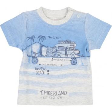 Ubranka dla niemowląt. T-shirt chłopięcy Timberland 002764.