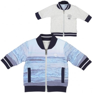 Oryginalne ubranka dla niemowląt. Bluza chłopięca Timberland 002765.