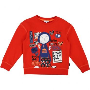 Designerskie ubrania dla dzieci. Bluza chłopięca LMJ 002772.