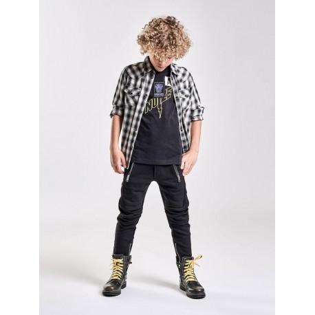 Designerskie ubrania dla dzieci. Spodnie chłopięce 002623 A.