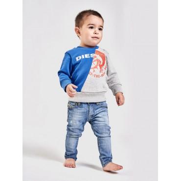 Ekskluzywne ubranka dla niemowląt. Bluza chłopięca Diesel, sklep online 002557 C