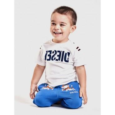 Oryginalna odzież niemowlęca. Koszulka niemowlęca Diesel 002676