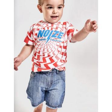 Oryginalna odzież niemowlęca. Koszulka niemowlęca Diesel 002675