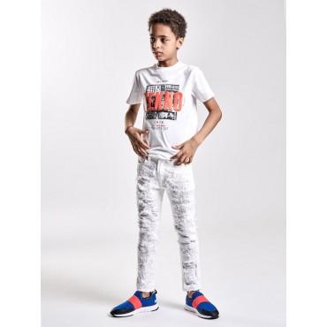 Markowe ubrania dla dzieci. Koszulka chłopięca DIESEL, sklep online 002677