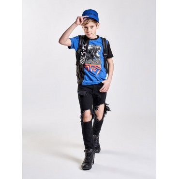 Odzież dla dzieci. Koszulka chłopięca DIESEL, sklep online 002453 B