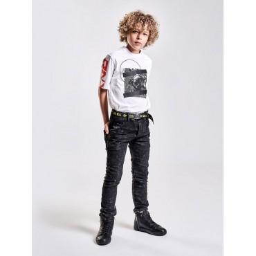 Oryginalne ubrania dla chłopców. Koszulka chłopięca DIESEL, sklep online 002456 B
