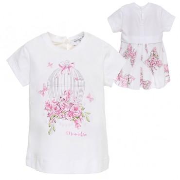 Bluzka niemowlęca Monnalisa 002780 A