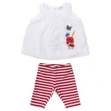 Komplet niemowlęcy Monnalisa 002785 A