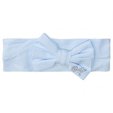 Niebieska opaska dla niemowlaka Monnalisa 002790