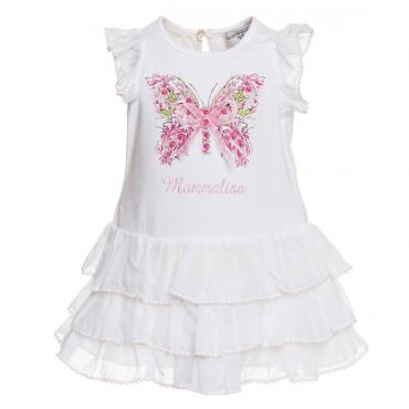 Oryginalna sukienka niemowlęca Monnalisa Bebe 002795 A