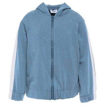 Dziewczęca bluza z kapturem Monnalisa 002799