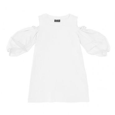 Trapezowa sukienka dziewczęca Monnalisa 002811