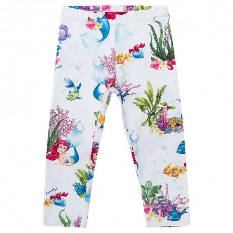 Ubranka dla dzieci, legginsy dziewczęce Monnalisa 002813