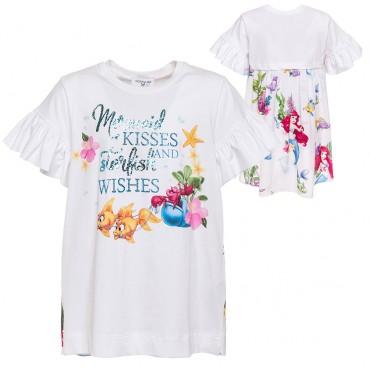 Bluzka dziewczęca Monnalisa 002818, markowa odzież dla dzieci.