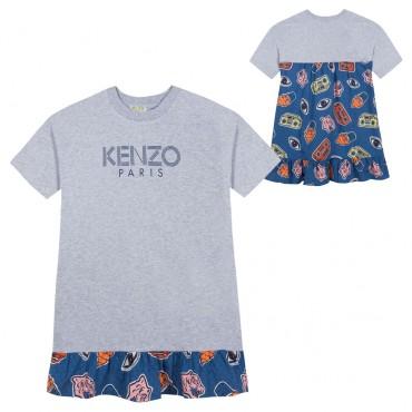 Sukienka dla dziewczynki Kenzo, 002848 A.