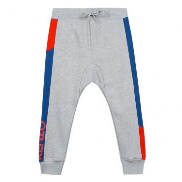 Odzież dla dzieci Kenzo, spodnie chłopięce 002852 A.