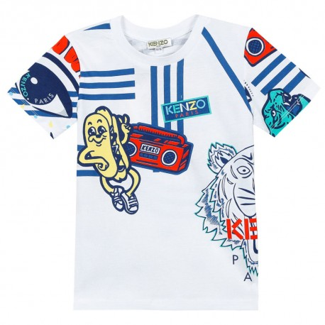 c4ce1841c Koszulka chłopięca Kenzo 002863, sklep online, ubrania dla dzieci.