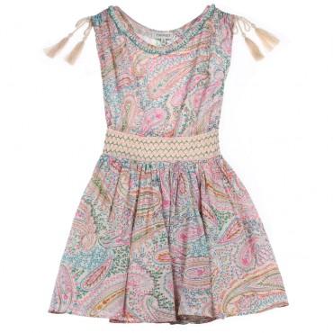 Sukienka boho bez rękawów Twin Set 002774 C