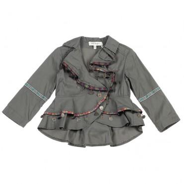 Luksusowe ubrania dla dzieci. Kurtka dziewczęca Twin Set 002775 A.