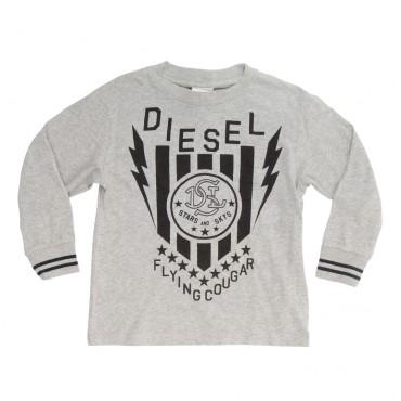 Koszulka chłopięca z długim rękawem Diesel 00J215