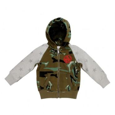 Bluza chłopięca DIESEL 00J2JD KYAFD K500, ubrania dla dzieci, euroyoung.