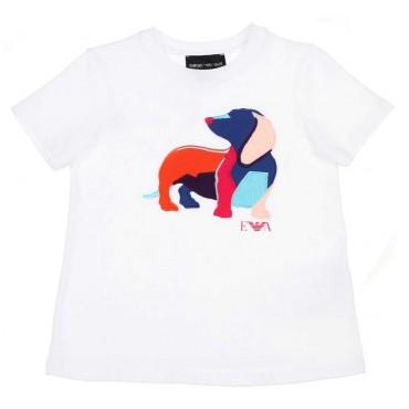 Koszulka dziewczęca EMPORIO ARMANI, sklep online 002499