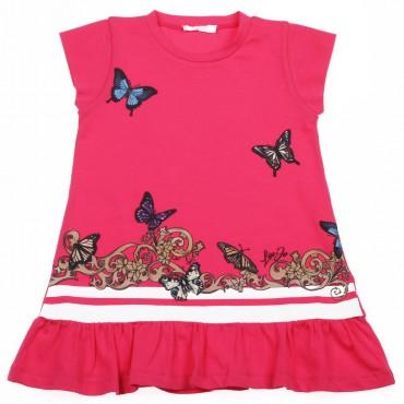 Dziewczęca sukienka w motyle Liu Jo 002881