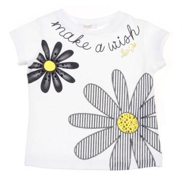 Koszulka dziewczęca w kwiaty Liu Jo 002884
