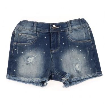 Szorty jeansowe dla dziewczynki Liu Jo 002885 A