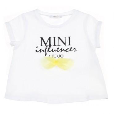 Koszulka dziewczęca Mini Influencer Liu Jo 002886