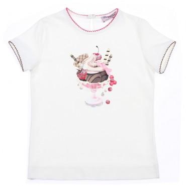 Koszulka z deserem Monnalisa 002901 A