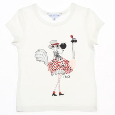 Koszulka dziecięca struś Little Marc Jacobs 002906