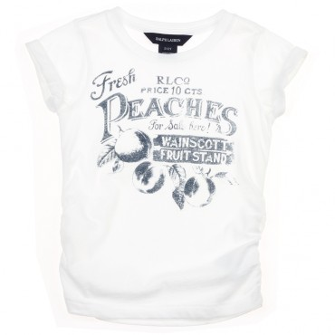 Koszulka z napisem Ralph Lauren 002912 A