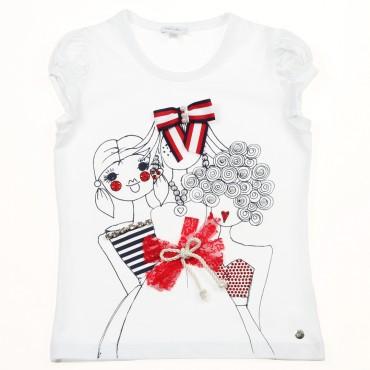 Koszulka dla dziewczynki Miss Grant 002913
