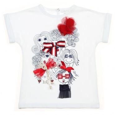 Koszulka dla dziecka z aplikacją Miss Grant 002914