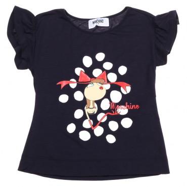 Koszulka dla dziewczynki Moschino 002917.