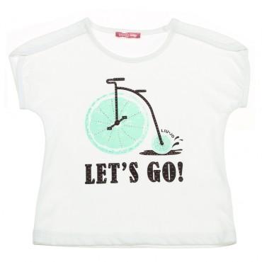 Koszulka dla dziewczynki Liu Jo 002919.