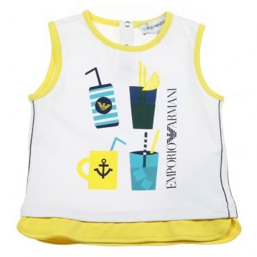 Koszulka niemowlęca Emporio Armani 002930.