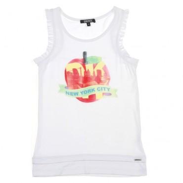 Top dla dziewczynki DKNY 002934