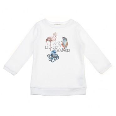 Długa bluza dziewczęca Charms Liu Jo 002953