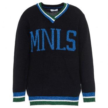 Sweter dziewczęcy MNLS Monnalisa 002975 A