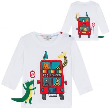 Koszulka niemowlęca Paul Smith Junior 002983 A