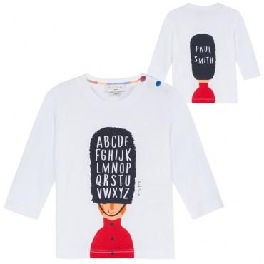 T-shirt niemowlęcy Paul Smith Baby 002985 A