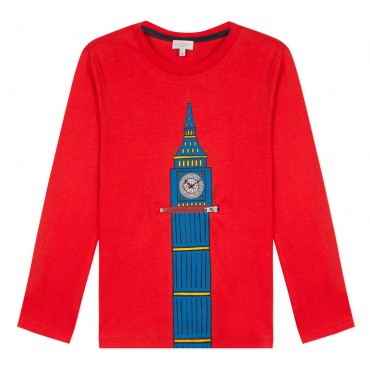 T-shirt chłopięcy Big Ben Paul Smith Junior 002993 A