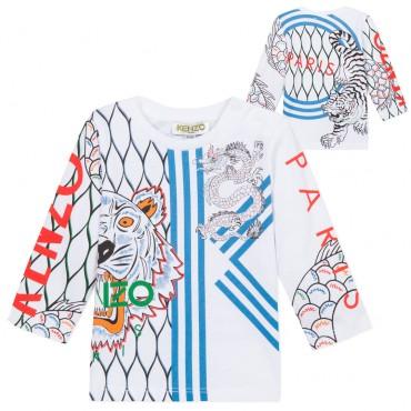 Koszulka niemowlęca Kenzo Paris 002999 A