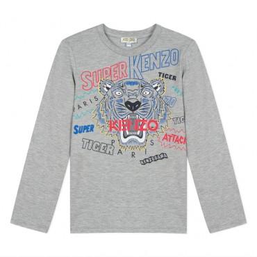 Koszulka chłopięca Super Kenzo 003000