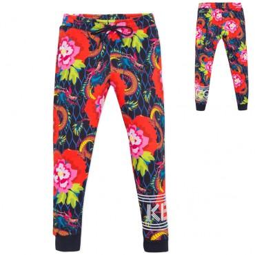 Spodnie dziewczęce Japanese Flowers Kenzo 003003 A