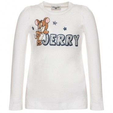 Koszulka dla dziewczynki Jerry Monnalisa 003014 A